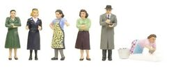 People And Animals For Hornby Oo/ho Gauge Train Sets - Scenery By Bachmann 3