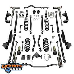Teraflex 1324033 4'' Lift Kit Alpine CT4 wFalcon 3.3 Shocks for 2007-18 Jeep JK