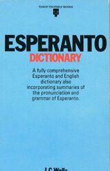 ESPERANTO DICTIONARY (TEACH YOURSELF) By J C Wells