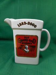 Old Grand Dad Whiskey Pitcher Wade