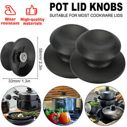 2pcs Pot Pan Lid Knobs Handle Replacement Kitchen Cookware Cover Grip Anti Rust