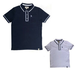 Penguin Boys Polo T-Shirt Navy or White Munsingwear Ages 6 Years