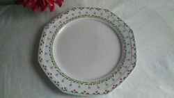 Poppy Sunday By Mikasa - 12 Chop Plate /platter - Discontinued Pattern