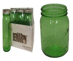Ball Heritage Collection Quart Jars With Lids And Bands Green Set Of 6