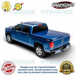 Undercover For 2014-2018 Toyota Tundra 5and0396 Bed - Silver Sky Truck Uc4116l-1d6