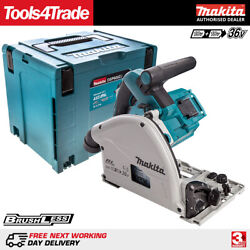 Makita Dsp600zj Lxt Twin 36v / 18v Brushless 165mm Plunge Circular Saw With Case