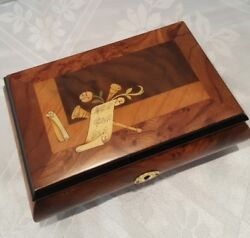 Reuge Music 36 Note Musical Jewelry Box - Amazing Grace