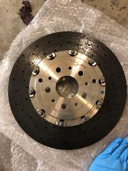 Ferrari FF F12 Berlinetta BREMBO Rear Brake Rotor Set OEM
