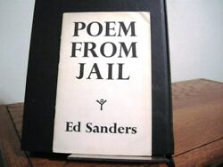 Poem from Jail Ed Sanders Signed First Edition 1963 Beat Generation City Lights