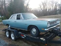 1969 Plymouth Belvedere 4 door Post Restoration Project Police Car Adam 12