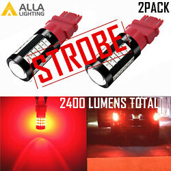Alla Lighting Legal Led 3157 Strobeandrarrsolid Brake Light Bulb|parking|tail|blinker