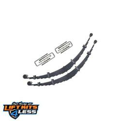 Icon 36000 6 Lift Front Leaf Spring Kit For 2000-2004 Ford F250/f350 Sd 2wd/4wd