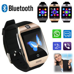 Wireless Bluetooth Smart Wrist Watch For Samsung Galaxy S9 S8 S7 S6 Huawei Mate