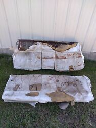 1963 1964 Cadillac Coupe Deville Back Rear Seat Cushions
