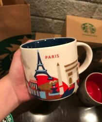Starbucks Paris Coffee Mug You Are Here Yah Collection Most Wanted