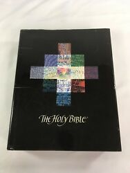 Holy Bible Nlt Botts Illustrated Edition Hardcover Great Condition