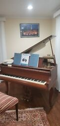 Baldwin Baby Grand Piano Great Playable Condition Restored. 1st Place In Paris.