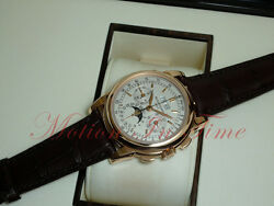 Patek Philippe 5970R Grand Complication Perpetual Calendar Chronograph Rose Gold