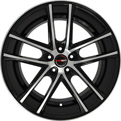 4 Gwg Zero 22 Inch Black Machined Rims Fits Jeep Grand Cherokee Limited 2014-20