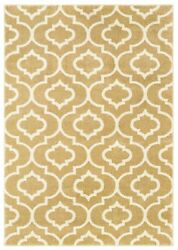 Carson By Oriental Weavers. Casual Geometric Area Rug. Gold/ivory 9672e