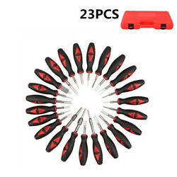 23pc Connector Pin Extractor Terminal Removal Tool Car Electrical Wiring Crimp