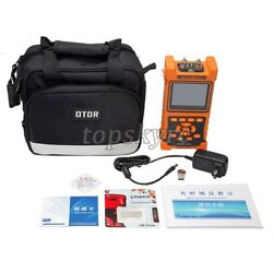 Hand-held Optical Time Domain Reflectometer Nk2000 Otdr 3.5 Color Lcd Display