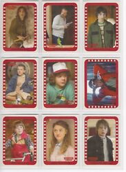 2018 Stranger Things Season 1 Complete Scene Stickers 10 Card Chase set