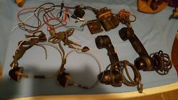 Vtg Telephone Switchboard Operator's Equipment and Headphones AND MORE