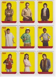 2018 Stranger Things Season 1 Complete Character Stickers 20 Card Chase Set