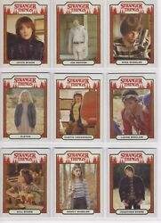 2018 Stranger Things Season 1 Complete Character 20 Card Chase set