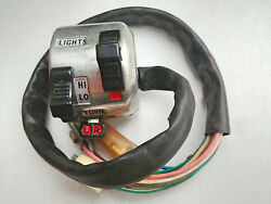 Yamaha Rs100 Rs125 Rd125 As3 Yas3 Horn Light Dimmer Turn Signal Holder Switch Lh
