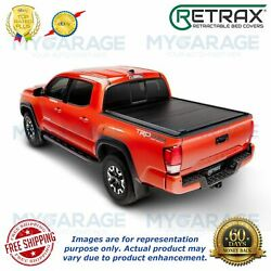 Retrax For 2007-2018 Toyota Tundra 8and039 Bed Pro Mx Tonneau Cover 80833