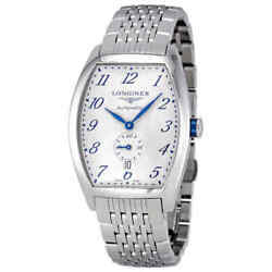 Longines Evidenza Automatic Silver Dial Menand039s Watch L2.642.4.73.6