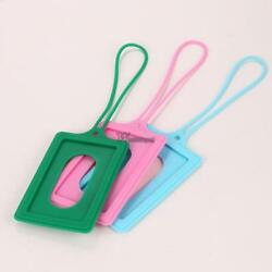 Silicone Privacy Cover Luggage Tag Suitcase Label Address ID Holiday WT88 02
