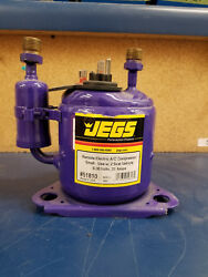 JEGS Remote Electric A C Compressor - Hot Rod Vintage Car Small Use