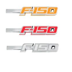 Recon For 09-14 Ford F150 Amber/red/white Fender Led Emblems 264282ch