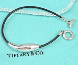 And Co. Frank Gehry Sterling Silver Double Fish Rubber Bracelet