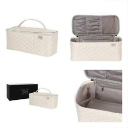 Large Toiletry Bags Travel Makeup Organizer - Cosmetic Train Case For Women With