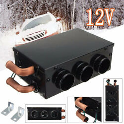 Portable 12V 800W 3 Holes Car Auto Heating Cooling Heater Defroster Demister New