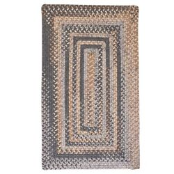 Gloucester Graphite Braided Area Rug/runner By Colonial Mills. Many Sizes. Gl98