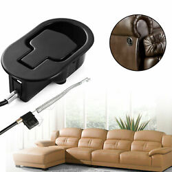 Sofa Recliner Release Pull Handle Replacement Universal Chair Couch Cable Lever
