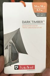 New! Nemo Dark Timber 4 Person Back Country Wall Tent Shelter Hunt Camp 4P NWT