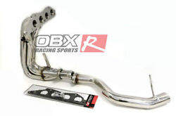 Stainless Header For 06 To 11 Mitsubishi Eclipse GS 2.4L MiVec 4G69 SOHC By OBX