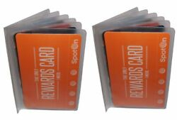 Set of 2 Plastic Wallet Insert Replacement Picture Card Holder Trifold 6 Page $6.98