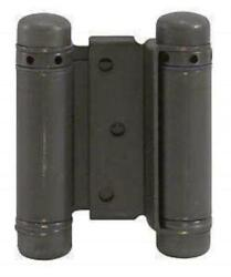 Oil Rubbed Bronze - Bommer Double Action Hinges Multiple Sizes 3 - 8 - Singl