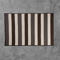 Portico Stone Brown Braided Area Rug/runner By Colonial Mills. Many Sizes. Po19
