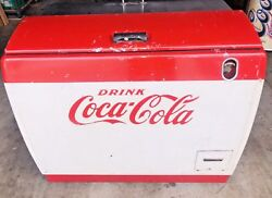 1950's Coca Cola Machine Westinghouse Model WH-12T Dry Cooler!! Works Great!!