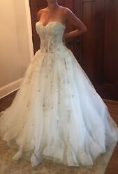 Gorgeous Eve Of Milady 1523 Bridal Gown With Veil Size 10 Orig. 4599.00