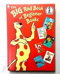 BIG RED BOOK OF BEGINNER BOOKS By Pd And Joan Et Al Eastman - Hardcover *VG+*