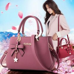 Women Leather Handbags Shoulder Messenger Satchel Tote Lady Crossbody Bags Purse $26.39